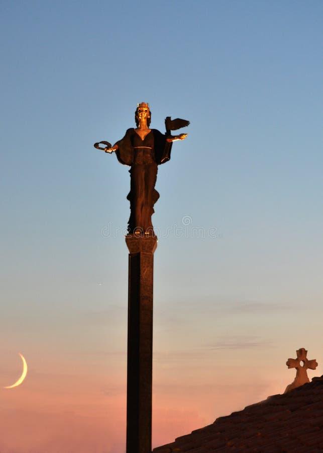 Monumento del santo Sofía fotos de archivo libres de regalías