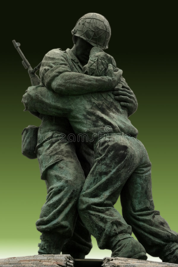 Monumento del soldado desconocido foto de archivo