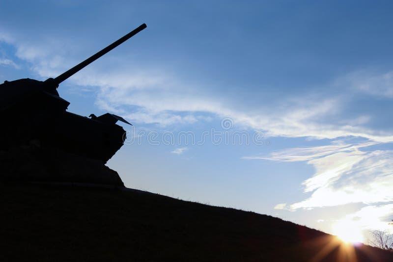 Monumento del tanque foto de archivo