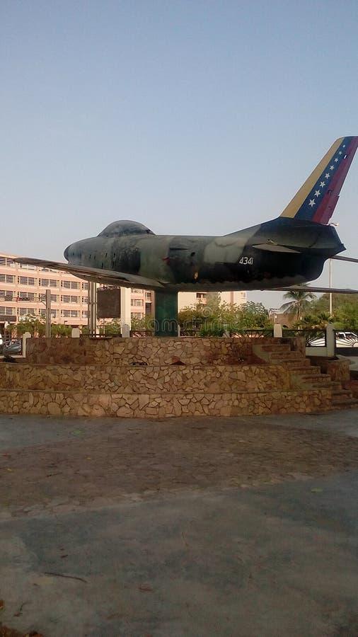 Monumento dell'aereo di aria fotografia stock libera da diritti