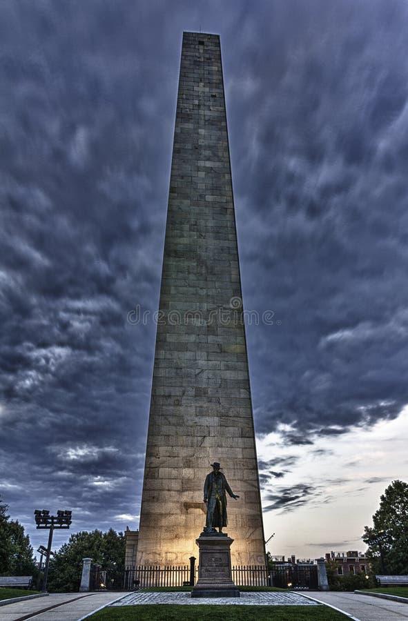 Monumento della collina di carbonile fotografia stock