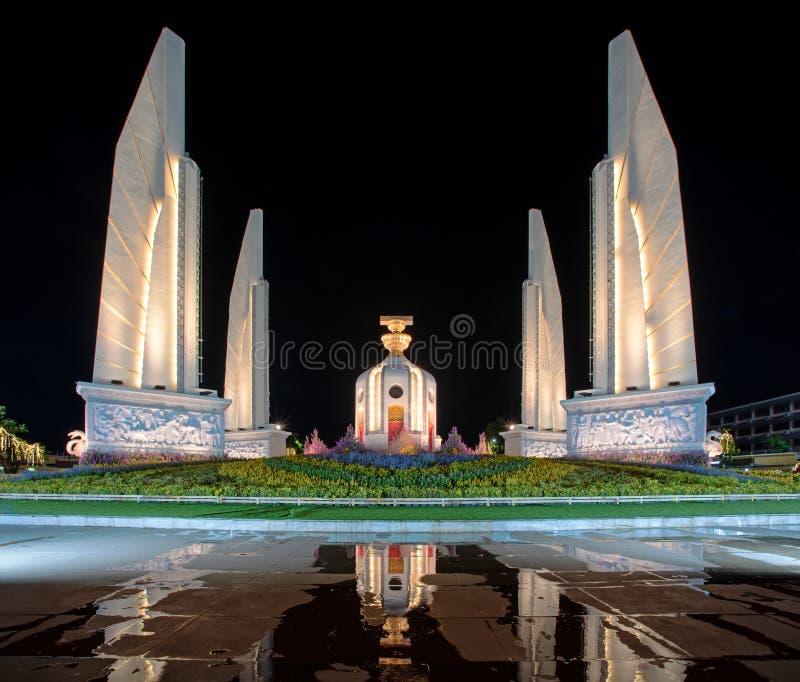 Monumento della Democrazia in Thailandia fotografia stock libera da diritti