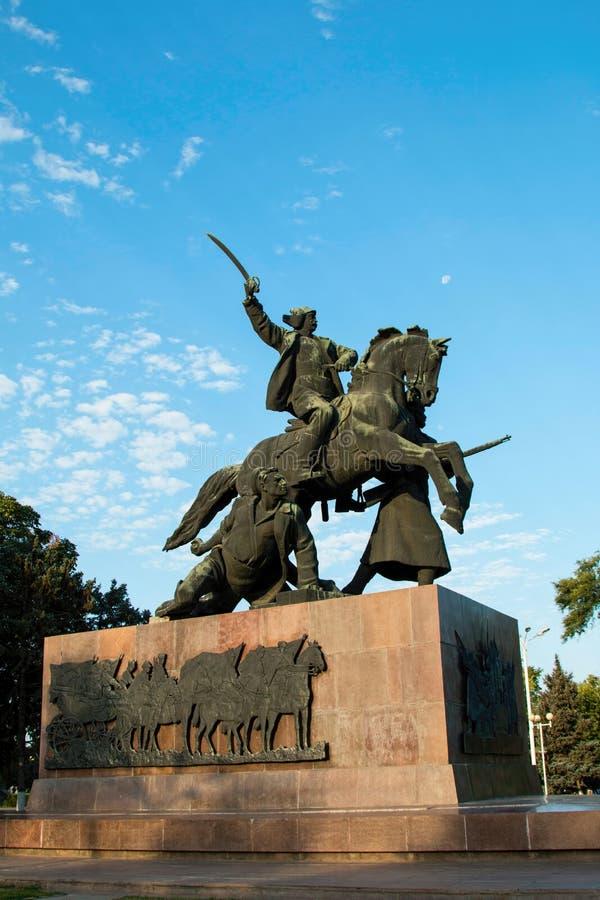 Monumento della guerra civile fotografie stock libere da diritti