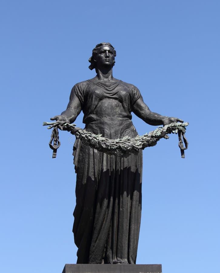 Monumento della patria della madre immagini stock