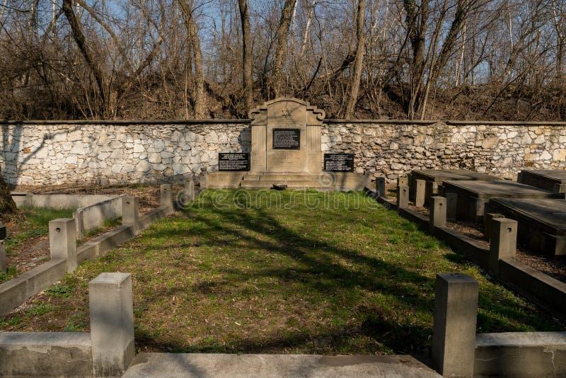 monumento delle vittime ebree immagine stock