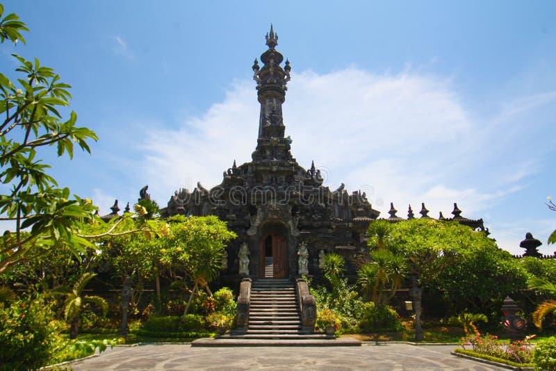 Monumento Denpasar de Bajra Sandhi imagem de stock royalty free