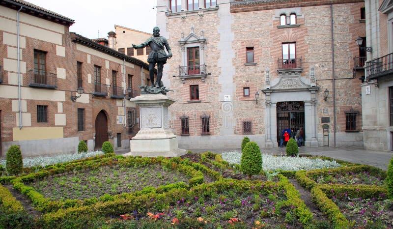 Monumento di Alvaro de Bazan immagini stock libere da diritti