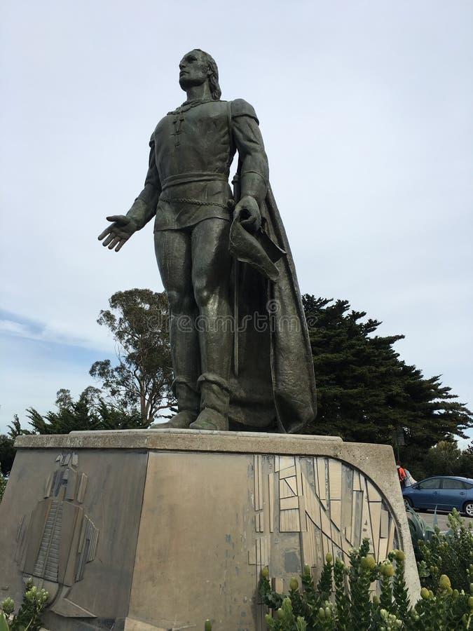 Monumento di Christopher Columbus, San Francisco immagini stock libere da diritti