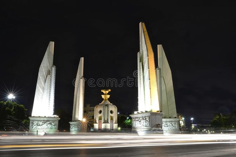 Monumento di democrazia fotografia stock libera da diritti