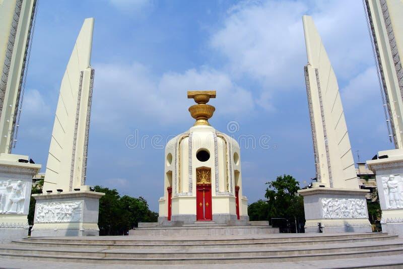 Monumento Tailandia di democrazia fotografia stock libera da diritti