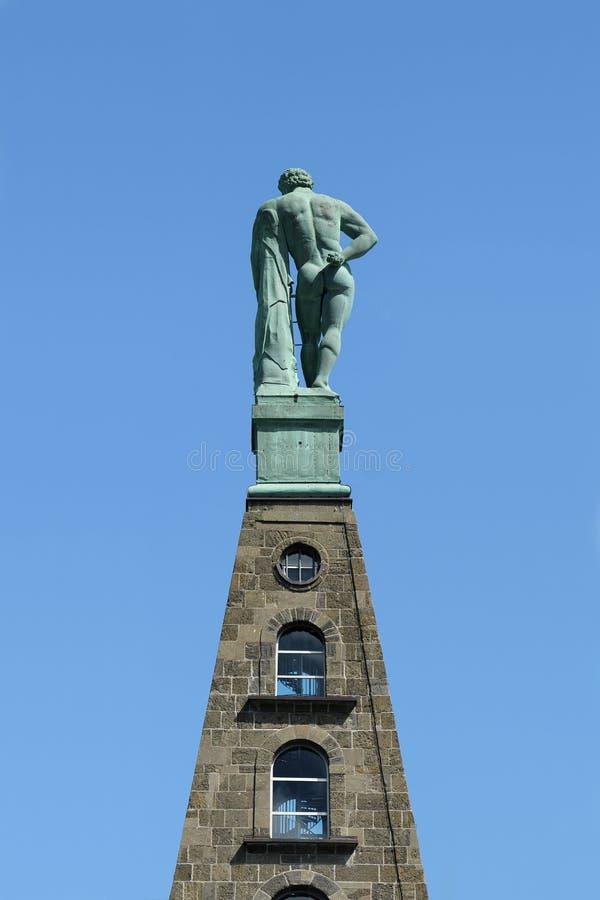 Monumento di Ercole a Cassel immagini stock libere da diritti