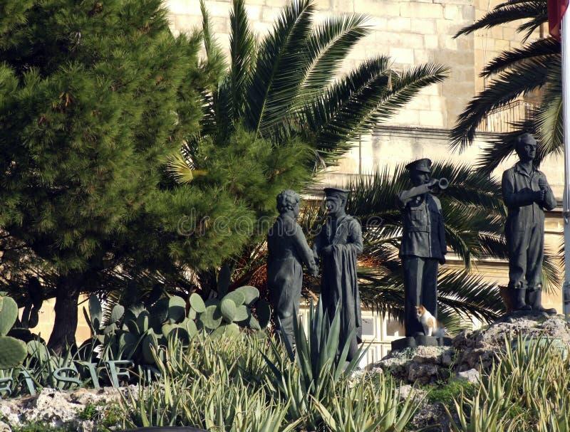 Monumento di giorno di libertà di Malta immagine stock