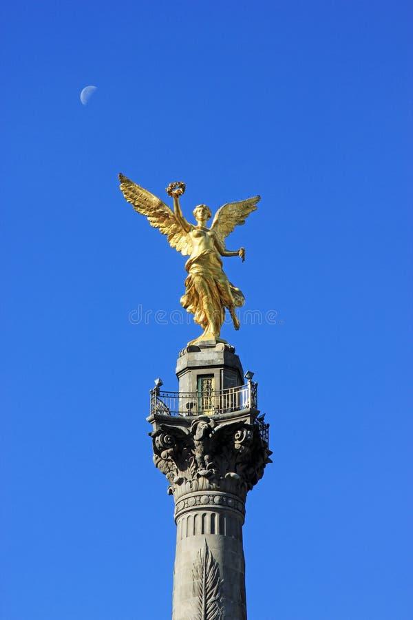 Monumento di Indipendence, Città del Messico fotografie stock