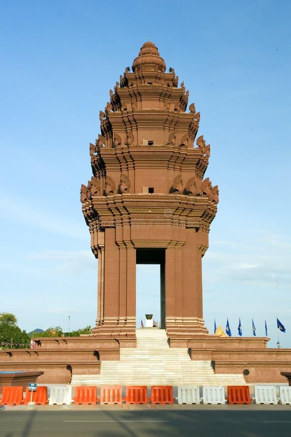 Monumento di indipendenza fotografie stock