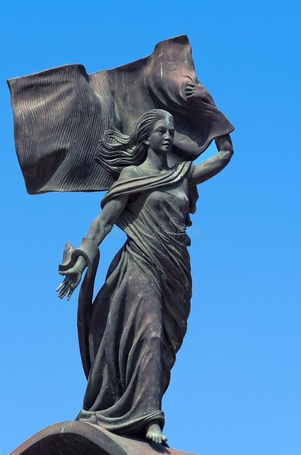 Monumento di indipendenza fotografie stock libere da diritti