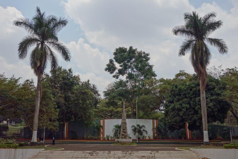 Monumento di indipendenza a Kampala fotografia stock
