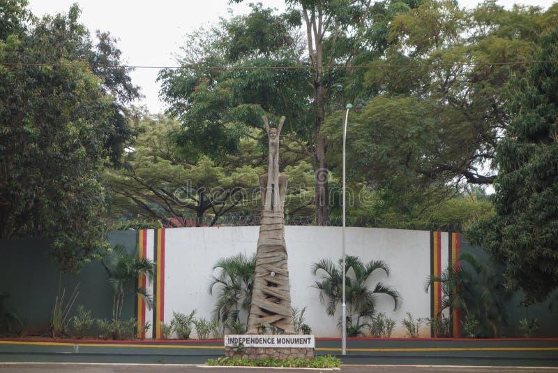 Monumento di indipendenza a Kampala fotografia stock libera da diritti