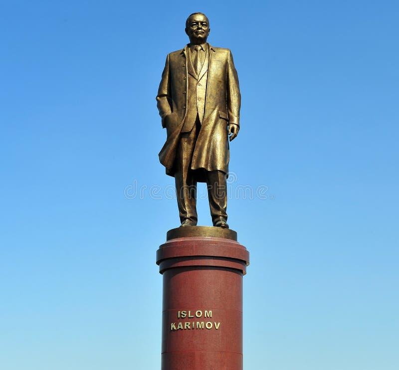 Monumento di Karimov di Islam fotografia stock libera da diritti