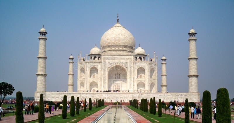 Monumento di meraviglia di Taj Mahal-The fotografie stock libere da diritti