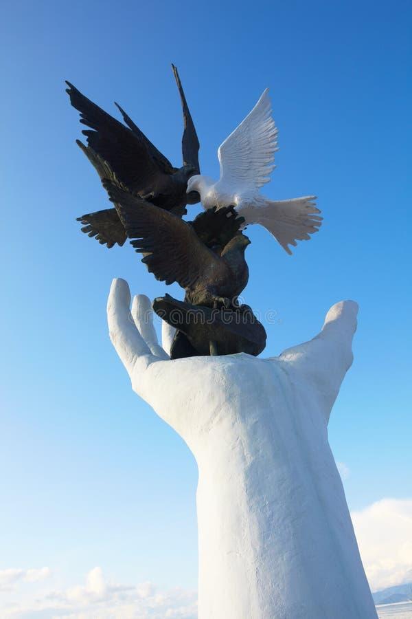 Monumento di pace fotografia stock