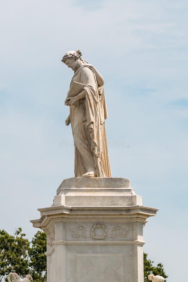 Monumento di pace in Washington, DC sul centro commerciale nazionale fotografie stock libere da diritti