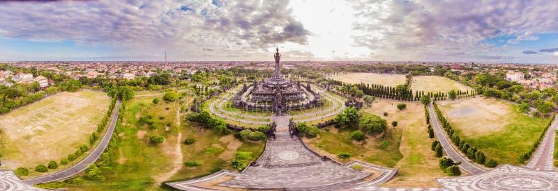 Monumento di Sandhi di miglio perlato o Monumen Perjuangan Rakyat Bali, Denpasar, Bali, Indonesia fotografia stock libera da diritti