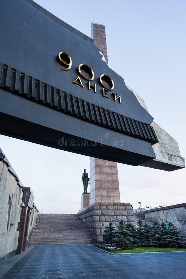 Monumento di vittoria in StPetersburg fotografia stock libera da diritti