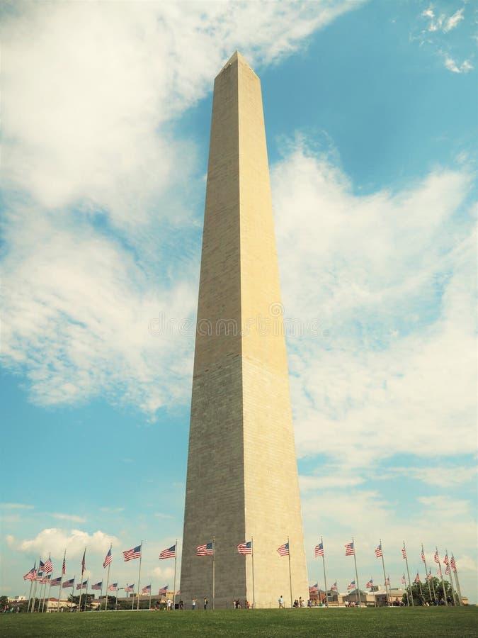 Monumento di Washinton immagini stock