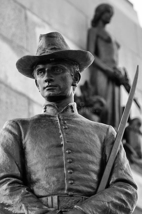 Monumento Di William Tecumseh Sherman, U.S.A. Fotografia Stock