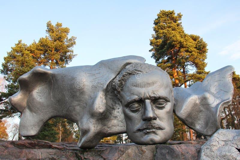 Monumento do compositor foto de stock royalty free