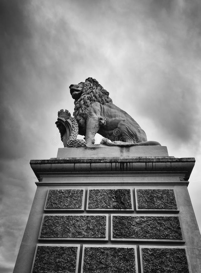 Monumento do le?o na lucerna, switzerland foto de stock