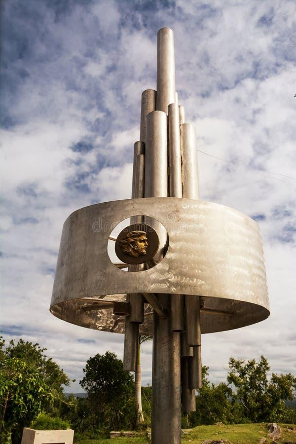 Monumento do Lomo del Capiro em Santa Clara fotos de stock