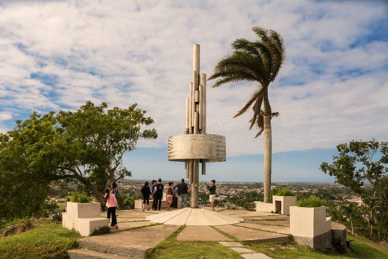 Monumento do Lomo del Capiro em Santa Clara imagens de stock