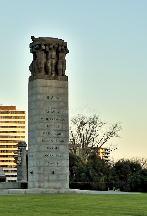 Monumento do memorial da guerra mundial 2 imagens de stock royalty free