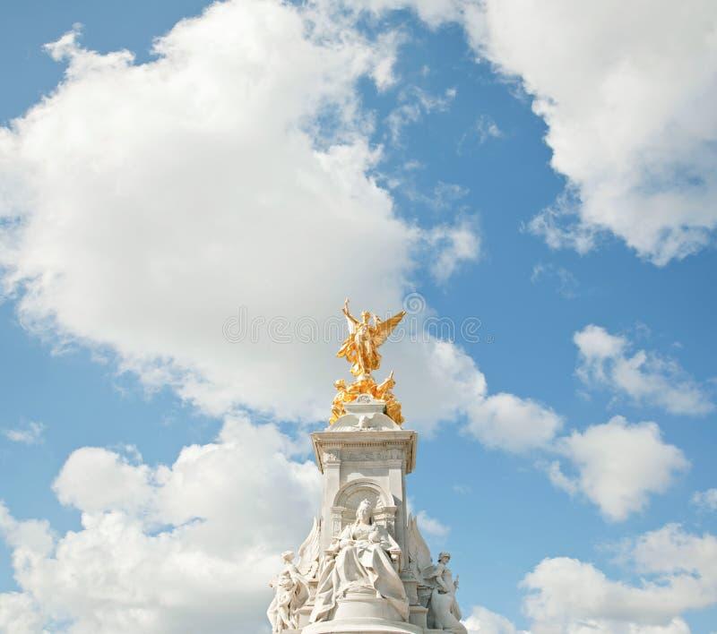Monumento do memorial da rainha Victoria imagens de stock royalty free