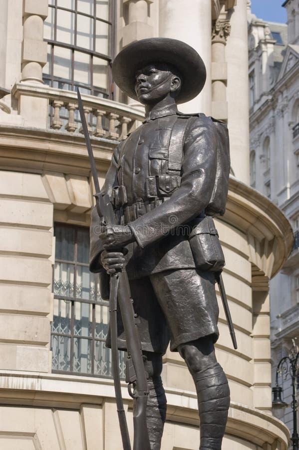 Monumento Do Soldado Do Gurkha, Whitehall, Londres Imagem de Stock