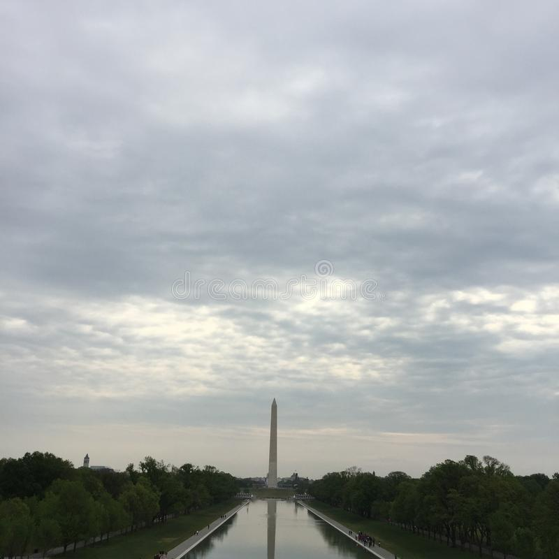 Monumento do Washington DC imagens de stock royalty free