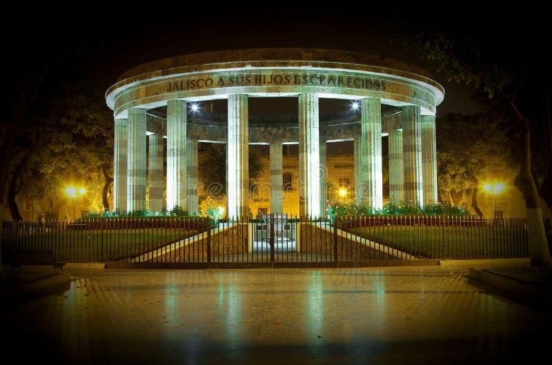 Monumento em Guadalajara foto de stock
