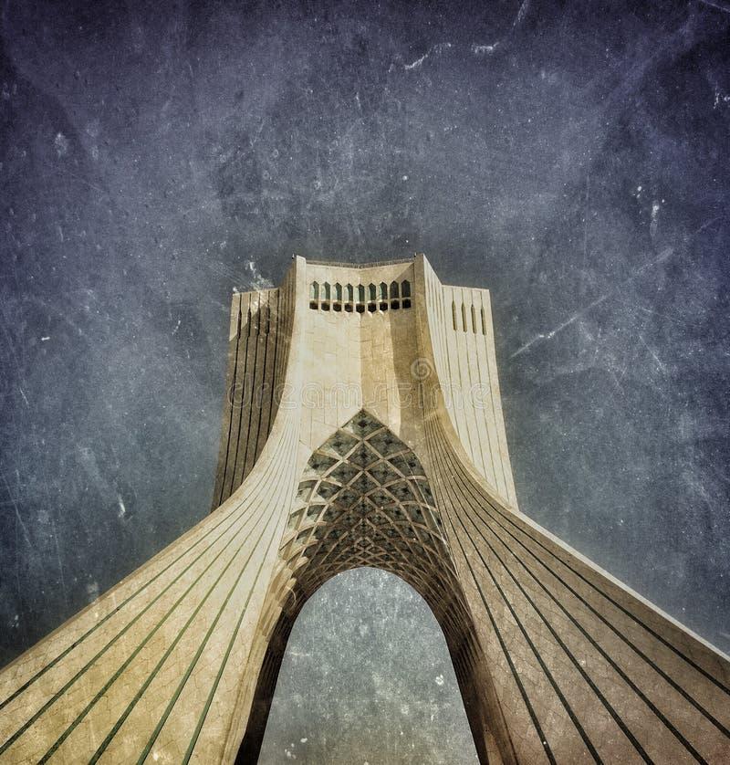 Monumento em Teheran imagens de stock royalty free