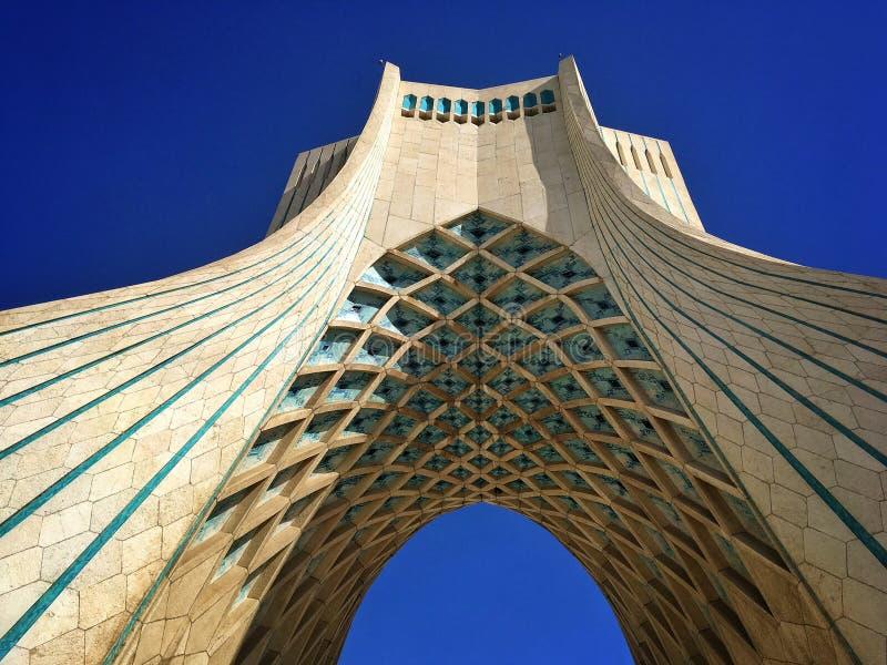 Monumento em Teheran fotografia de stock