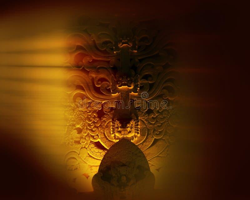 Monumento en Bali fotografía de archivo libre de regalías
