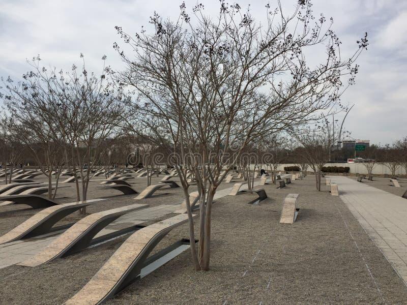 monumento 911 en el Pentágono fotos de archivo libres de regalías