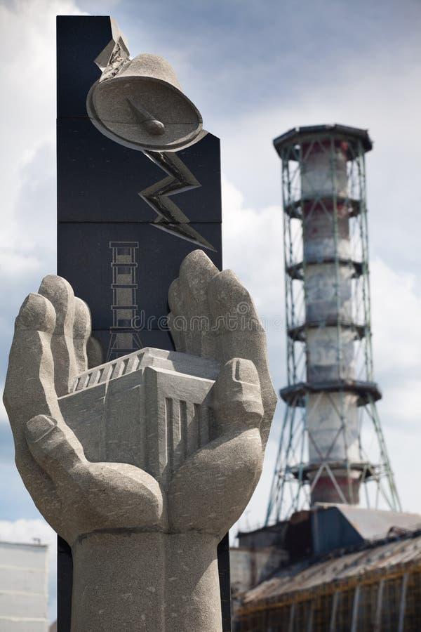 Monumento en la memoria del desastre imágenes de archivo libres de regalías
