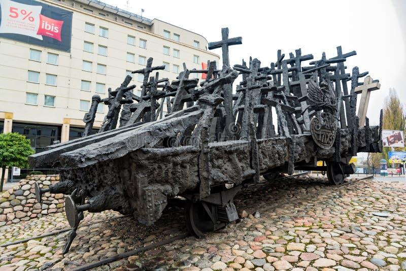 Monumento en Polonia imágenes de archivo libres de regalías