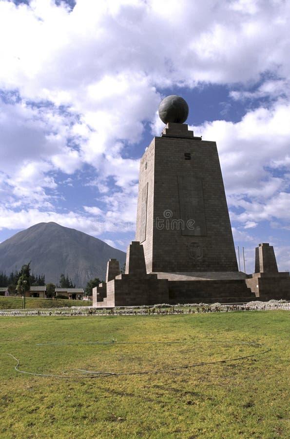 Monumento Equador imagem de stock