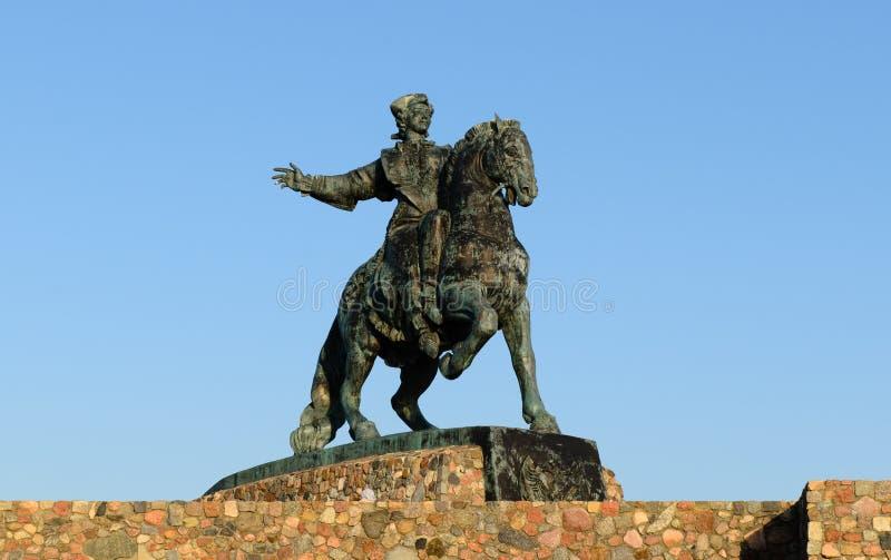 Monumento equestre all'imperatrice Elizabeth immagine stock libera da diritti
