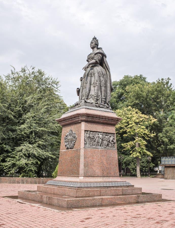 Monumento eretto dall'imperatrice Elizabeth immagini stock libere da diritti