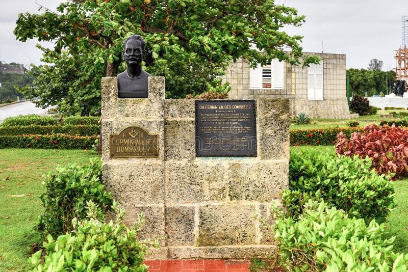 Monumento a Fermin Valdes Dominguez imagem de stock