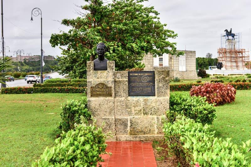 Monumento a Fermin Valdes Dominguez fotografia de stock
