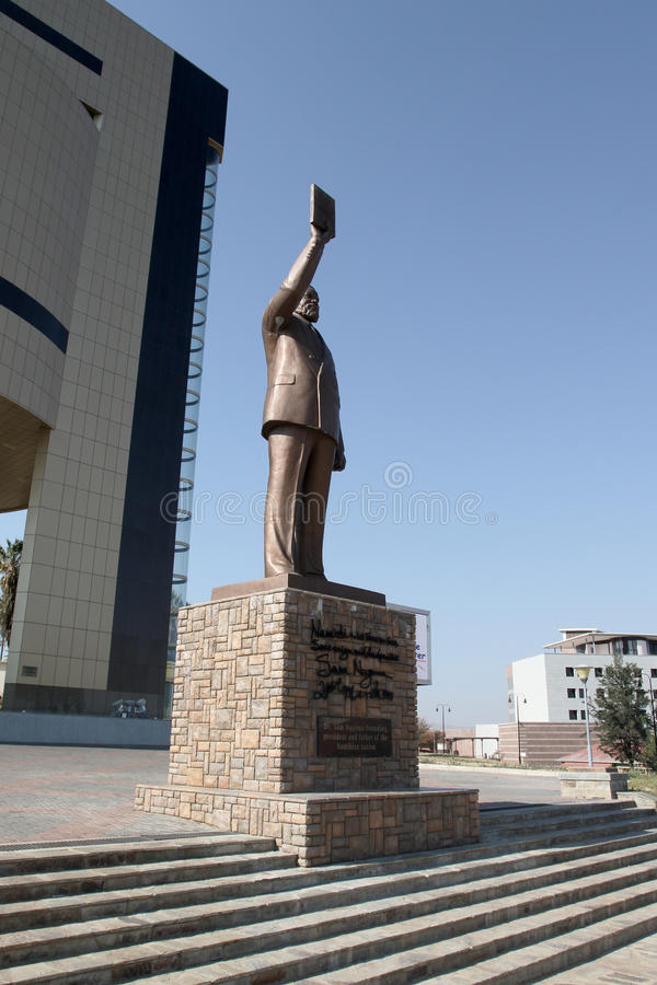 Monumento fondare più lontano di Nambia fotografia stock